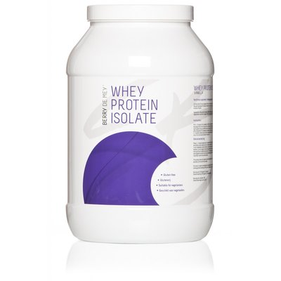 Whey isolaat 2kg Berry De Mey Naturel
